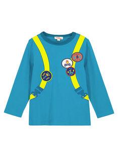 Dark Turquoise T-shirt GOTUTEE2 / 19W902Q3TMLC217