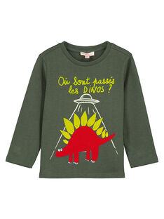 Grey T-shirt GOJAUTEE1 / 19W902H3TMLJ900