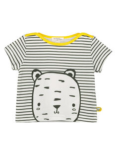 Unisex babies' striped T-shirt FOU2TI1 / 19SF05J1TMC000