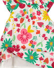 Baby girls' poplin dress FIYEROB2 / 19SG09M2ROB000