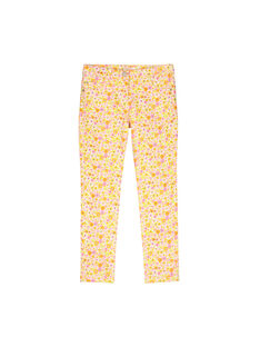 Girls' fancy trousers FAPOPANT / 19S901C1PAN099