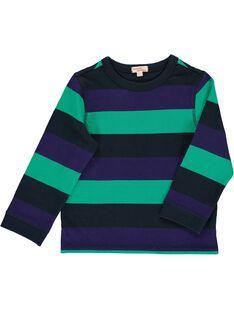 Boys' long-sleeved T-shirt DOVIOTEE5 / 18W902H5TML099