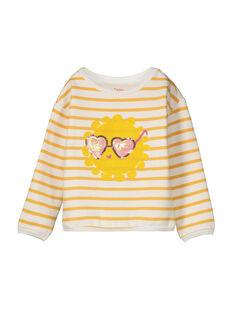 Girls' fancy sweatshirt FALISWEAT / 19S90121SWE099