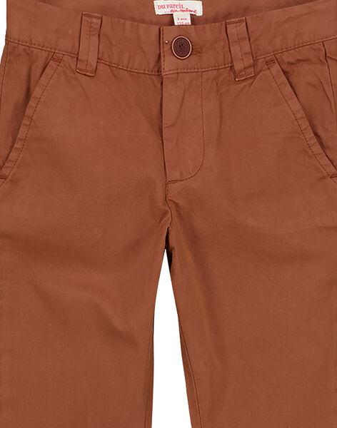 Light brown Pants GOJOPACHI2 / 19W90246D2B804