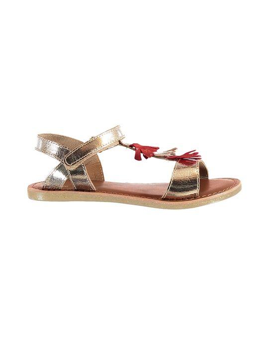 Gold Sandal JFSANDEMI / 20SK35Z7D0E954