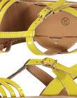 Yellow Sandal FFSANDOLI1 / 19SK35C4D0E010