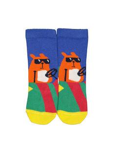 Baby boys' mid length socks FYUCOCHO / 19SI1081SOQ703