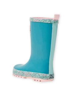 Floral patterned rain boots MAPLUINOEUD / 21XK3512D0C202