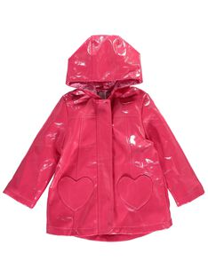 Girls' raincoat CAHOIMPER2 / 18S901E1IMPF503