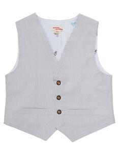 Grey Sleeveless Jacket JOPOEGIL / 20S902G1GSM940