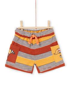 Baby Boy Stripe Bermuda Shorts LUTERBER1 / 21SG10V1BERF519
