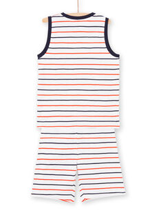 Boy's striped pajamas LEGOPYCSKA / 21SH12C9PYJ000