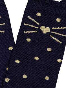 Navy Socks GYASANCHO / 19WI01C1SOQ070