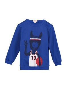 Boys' fancy sweatshirt FOJOSWE3 / 19S90233SWB703