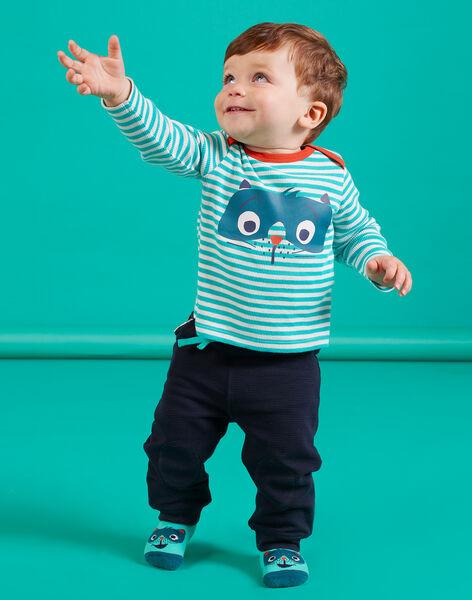 Baby Boy's Dark Green Pants MUTUPAN2 / 21WG10K2PANC234
