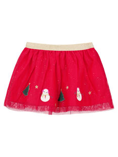 Red Skirt GINOJU / 19WG09V1JUPF521