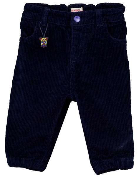 Navy pants GUVIOPAN1 / 19WG10R2PAN713