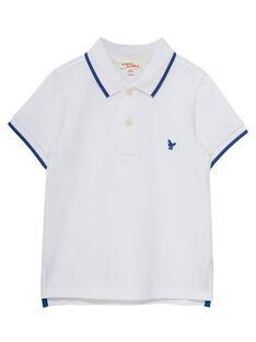 White Polo shirt JOJOPOL4 / 20S90252D2D000