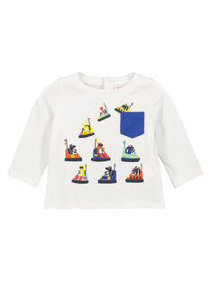 Baby boys' long-sleeved T-shirt FUCOTEE2 / 19SG1082TML000