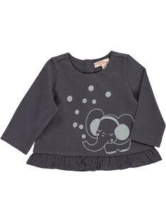 Baby girls' long-sleeved T-shirt DIJOTEE6 / 18WG0936TML941
