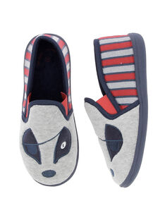 Boys' slip-on slippers DGSGPIRAT / 18WK36W3D0B940