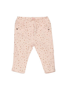 Baby girls' trousers FIJOPAN1 / 19SG0931PAN307