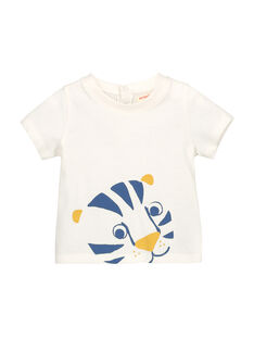 Baby boys' short-sleeved T-shirt FUJOTI2 / 19SG1032TMC001