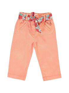 Baby girls' trousers CIBUPAN / 18SG09K1PAN401