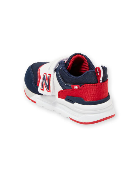 New Balance kids' navy blue and red sneakers KGPZ997HVN / 20XK3626D37070