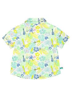 Baby boys' shirt FUCUCHEM / 19SG10N1CHM099