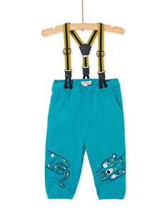 Turquoise PANTS KUBRIPAN1 / 20WG10F1PAN202