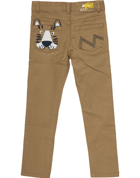 Brown pants JOTROPAN / 20S902F1PANI815
