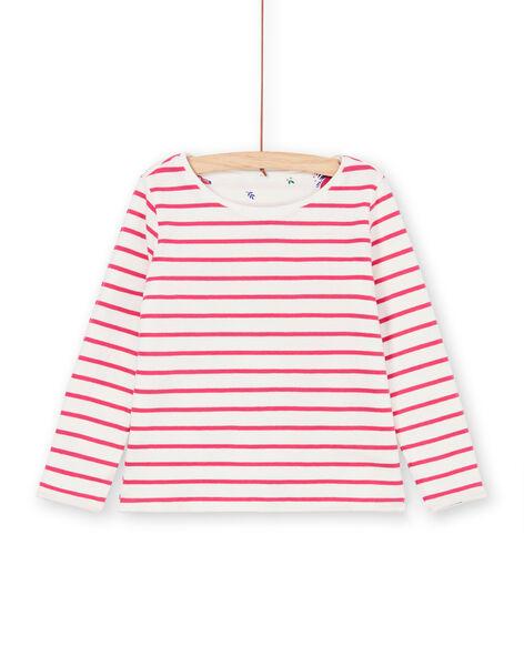 Reversible white and blue T-shirt LANAUTEE1 / 21S901P1TML001