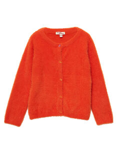 Light orange Cardigan JAVICAR / 20S901D1CAR406