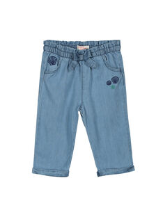 Baby girls' denim trousers FINEPAN / 19SG09B1PAN721