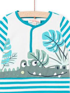 Baby boy jersey short jumpsuit LUPLACOM1 / 21SG10T1CBL001