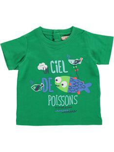 Baby boys' short-sleeved T-shirt CUMATI1 / 18SG10U1TMC600