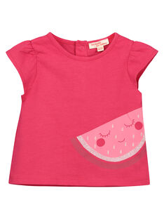 Baby girls' fancy T-shirt FIJOTI6 / 19SG09G1TMC304
