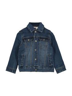 Boys' denim jacket FOGROVES1 / 19S902X1VES704