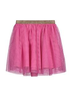 Girls' tulle skirt FAROJUP2 / 19S901S2JUP322