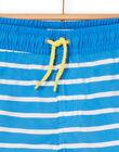 Blue and white bathing shorts for boys LYOMERBOXEX / 21SI02DBMAIC238