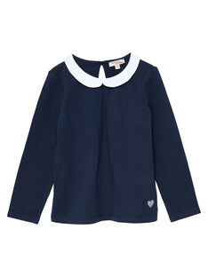 Navy baby blouse JAESBRA1 / 20S90161D3A070