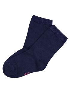 Navy Socks GYAESCHO4 / 19WI01U5SOQ070