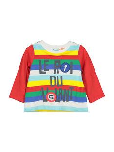 Baby boys' long-sleeved T-shirt FUCOTEE1 / 19SG1081TML099
