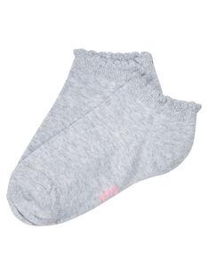 Heather grey Socks JYAESCHOS2 / 20SI0164SOQ943