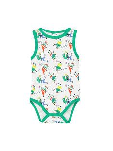 Baby boys' vest bodysuit FEGABODAOP / 19SH14I5BDL099