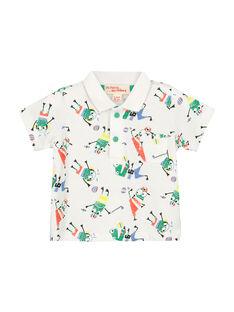 Baby boys' fancy polo shirt FUCAPOL / 19SG10D1POL099