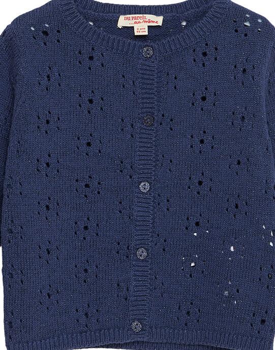 Blue Cardigan JATROCAR1 / 20S901F2CARC233