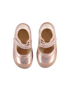 Pink gold Salome shoes JBFBABFLEX / 20SK37Y4D13K009