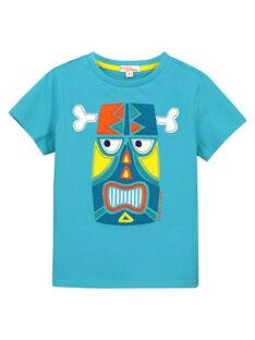 Boys' fancy T-shirt FOCUTI4 / 19S902N5TMC202